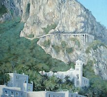Up to Anacapri II by Carole Russell