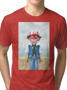 The Son of PokeMAN Tri-blend T-Shirt