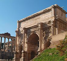 ARCH OF SEPTIMIUS SEVERUS, Rome, Forum by Digimo