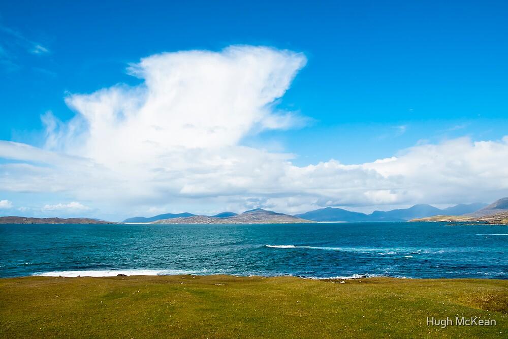 Landscape, Mountains of North Harris, Sound of Taransay, Western Isles, Scotland, by Hugh McKean