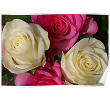 Four Roses For You Poster