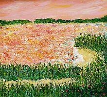 Sunset Bay by Kimberly  Daigle