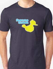 Sesame Tweet - Blue Text Unisex T-Shirt
