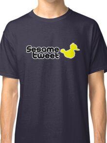 Sesame Tweet - Black Text V.2 Classic T-Shirt
