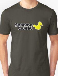 Sesame Tweet - Black Text V.2 Unisex T-Shirt