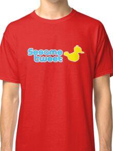 Sesame Tweet - Blue Text V.2 Classic T-Shirt