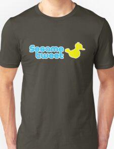 Sesame Tweet - Blue Text V.2 Unisex T-Shirt