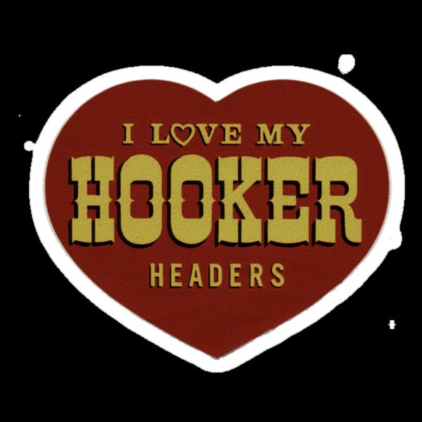 Hooker Headers by Del Parrish