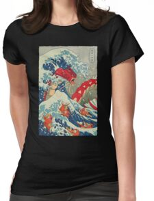The Great Red Wave Womens Fitted T-Shirt