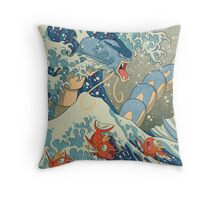 The Great Wave Throw Pillow