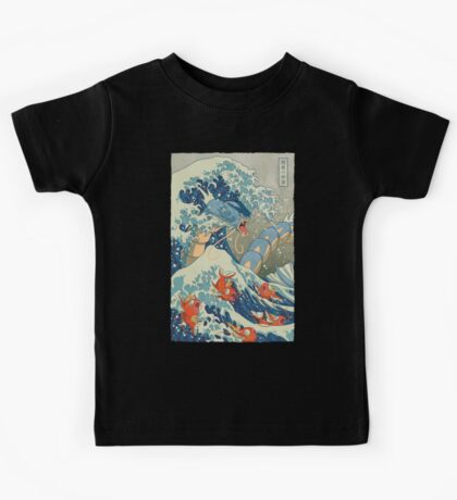 The Great Wave Kids Tee