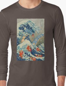 The Great Wave Long Sleeve T-Shirt