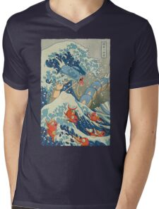 The Great Wave Mens V-Neck T-Shirt