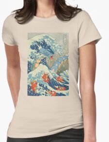 The Great Wave Womens Fitted T-Shirt