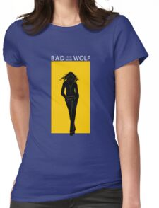 Something Of The Wolf Womens Fitted T-Shirt