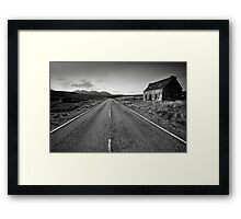 Desolation Road Framed Print
