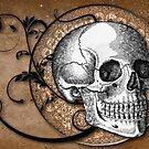 Beautiful Bones In Sepia by Elizabeth Burton