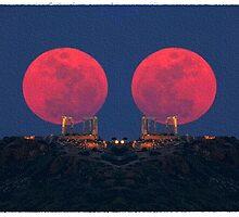 ~  Red Moon Rising ~ by Alexandra  Lexx Larsson