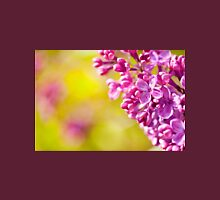 Spring lilac flowerets macro Womens Fitted T-Shirt