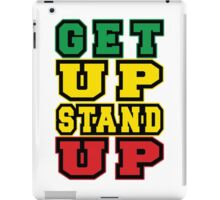 Get up Stand up iPad Case/Skin