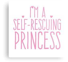 I'm a self-rescuing princess Metal Print