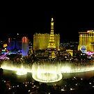 View from Bellagio, Las Vegas by Yool