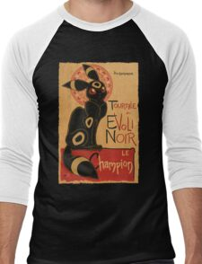Noir Men's Baseball ¾ T-Shirt