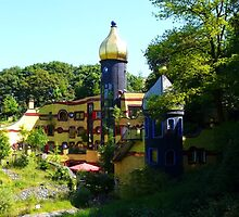 Hundertwasser House (Essen, Germany) by Denise Abé
