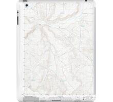 USGS Topo Map Oregon Downey Canyon 20110902 TM iPad Case/Skin