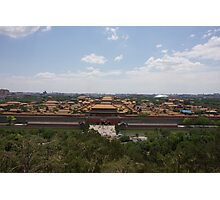 Forbidden City Photographic Print