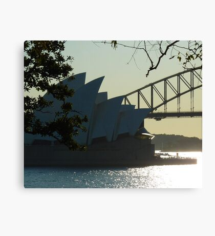 Two Icons In One Canvas Print