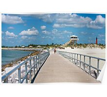 Ponce Inlet Summer Day Poster