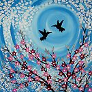 Humming Birds in Love by cathyjacobs