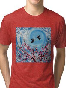 Humming Birds in Love Tri-blend T-Shirt