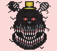 Five Nights at Freddys 4 - Nightmare! - Pixel art Kids Clothes