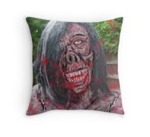 barbie of the dead Throw Pillow