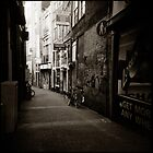{ dim walkway } by Lucia Fischer