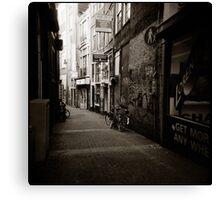 { dim walkway } Canvas Print