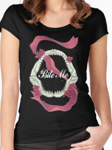Bite Me - SouRin Women's Fitted Scoop T-Shirt