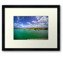 On the Outskirts of Town Framed Print