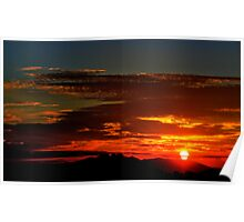 As The Sun Peeks Through  Poster