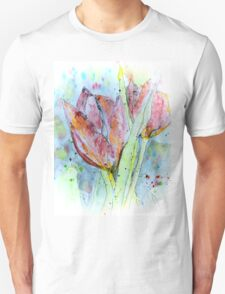 painting with tulips T-Shirt