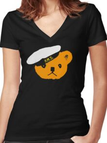 Sailor Ted (color) Women's Fitted V-Neck T-Shirt