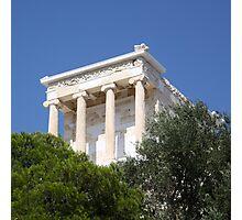 temple of athena nike Photographic Print