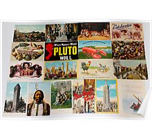 Vintage Postcard Collection By Jonathan Green Poster