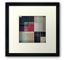 Lines/Abstract Q1 Framed Print