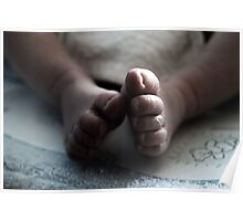 Baby Boy Toes Poster