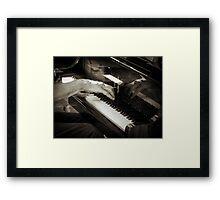 Jazz Fingers Framed Print