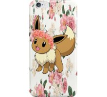 Eevee In A Flower Crown iPhone Case/Skin