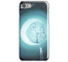 Climbing to the moon-tree... iPhone Case/Skin
